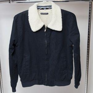 Brandy Melville One Size Fleece Lined Jacket